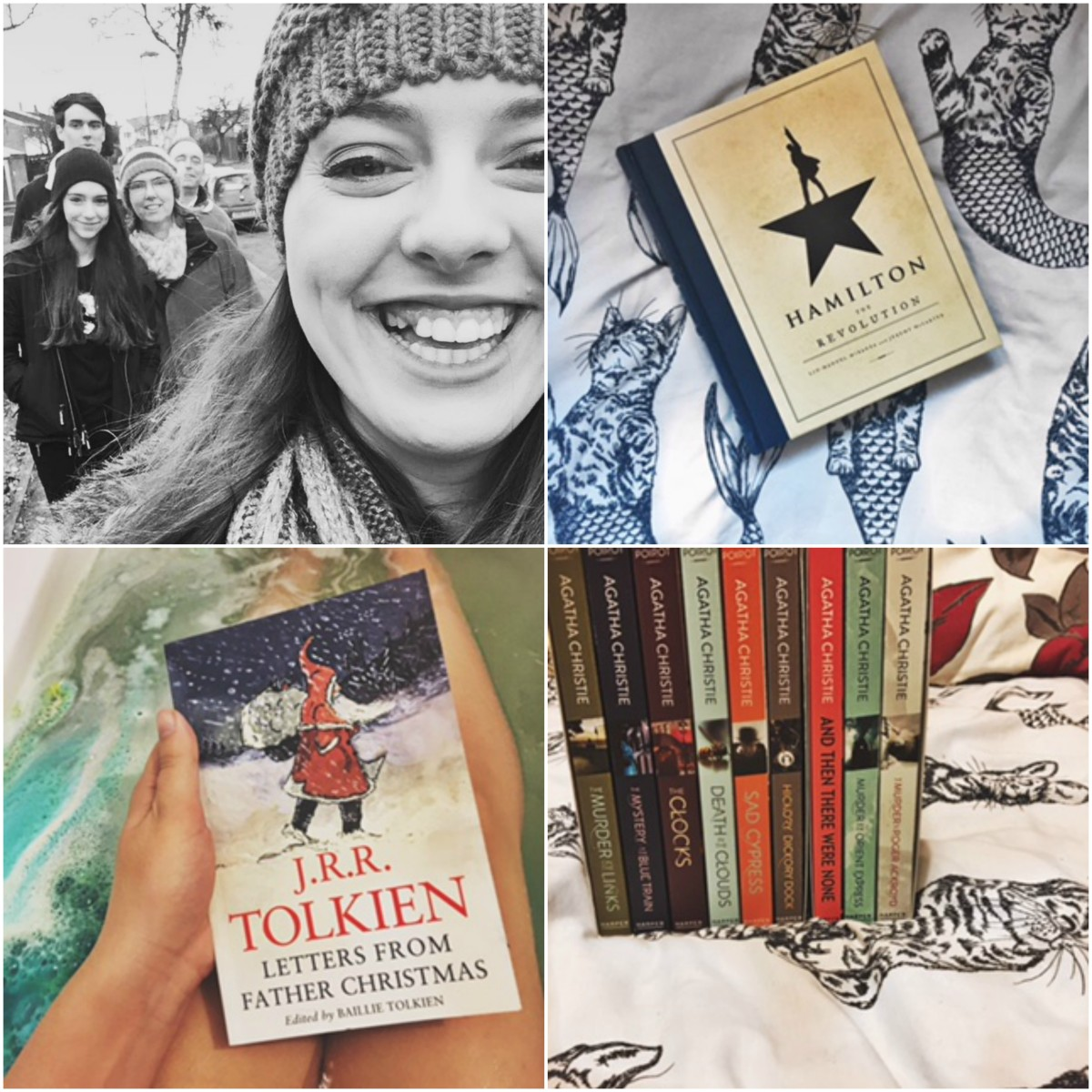 Festive reads | The books I got for Christmas